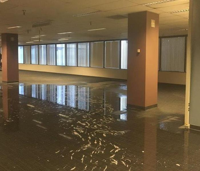 How to quickly clean up a business after flooding? Before