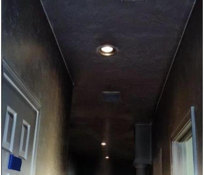 Smoke and soot cleaning after a fire in your home