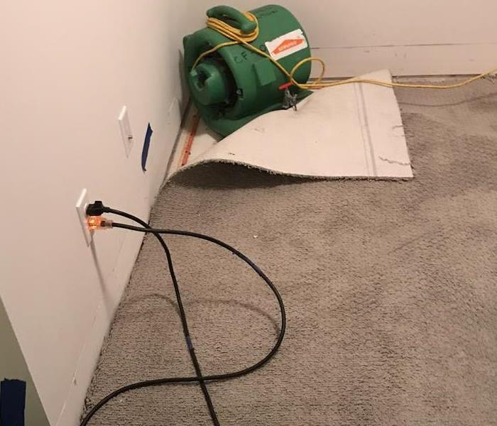 Carpet Drying After Storm Damage